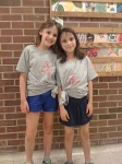Two of our camper's for 2012 showing off their CJ spirit!